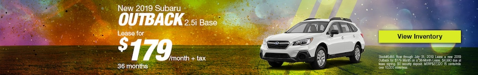 New 2019 Subaru Outback 2.5i Base