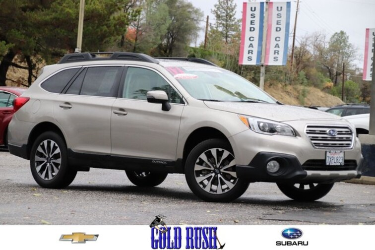 Certified Pre-Owned 2017 Subaru Outback Limited SUV in Auburn, CA