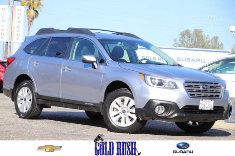 Certified Pre-Owned 2017 Subaru Outback Premium SUV in Auburn, CA