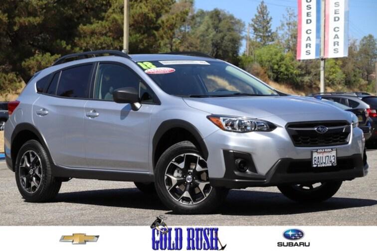 Certified Pre-Owned 2018 Subaru Crosstrek SUV in Auburn, CA