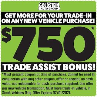 750 Trade assist Bonus!