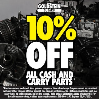 10% OFF CASH AND CARRY