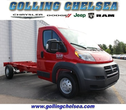 2018 Ram Promaster 3500 Cutaway Low Roof Cab/Chassis