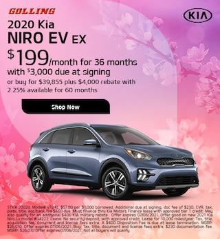 2020 Kia Niro EV EX Lease