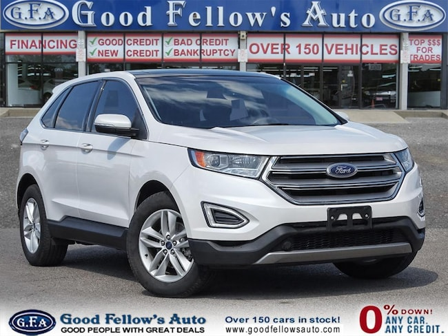 2015 Ford Edge SEL MODEL, 4CYL 2.0L, NAVIGATION, REARVIEW CAMERA SUV