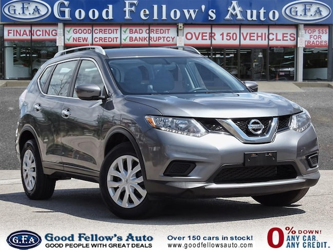 2016 Nissan Rogue S MODEL, AWD, REARVIEW CAMERA SUV