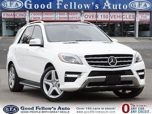 2015 Mercedes-Benz ML350 4MATIC, DIESEL, LEATHER SEATS, PANORAMIC ROOF, NAV