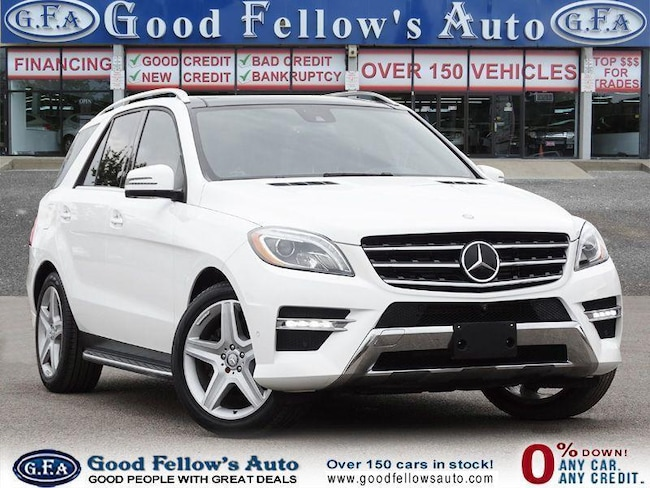 2015 Mercedes-Benz ML350 4MATIC, DIESEL, LEATHER SEATS, PANORAMIC ROOF, NAV SUV
