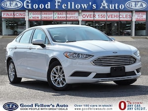 2017 Ford Fusion S MODEL, 2.5L 4CYL, REARVIEW CAMERA, BLUETOOTH CON