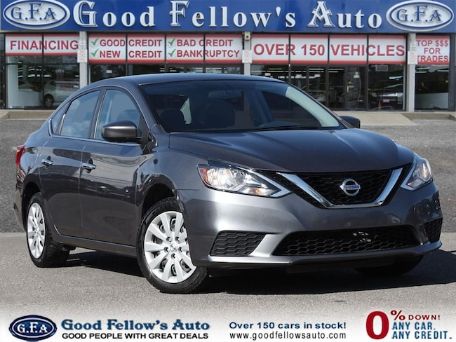2017 Nissan Sentra SV MODEL, REARVIEW CAMERA, HEATED SEATS, 1.8 L Sedan