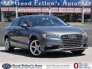 2016 Audi A3 2.0L, AWD, LEATHER & POWER SEATS, POWER SUNROOF