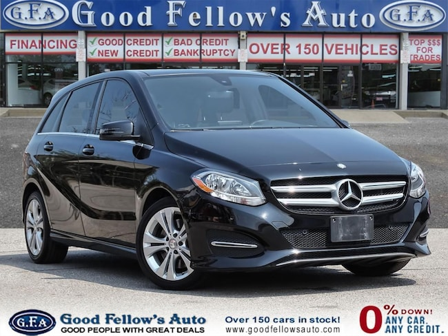 2015 Mercedes-Benz B250 PANORAMIC ROOF, BLIND SPOT MONITORING, HEATED SEAT Hatchback