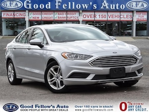 2018 Ford Fusion SE MODEL, SUNROOF, REARVIEW CAMERA, POWER SEATS