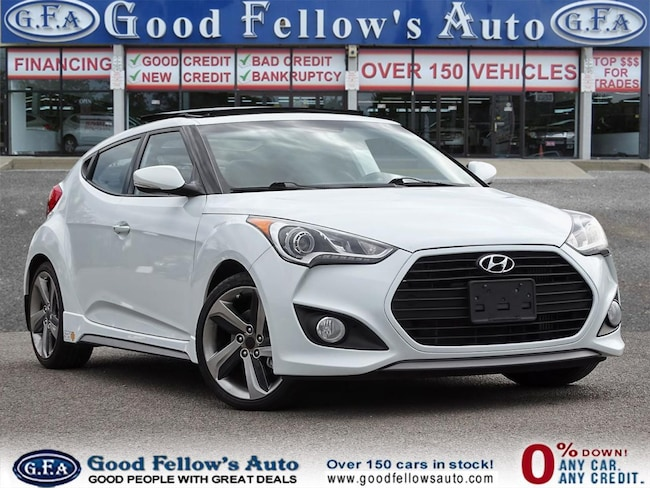 2014 Hyundai Veloster W/ TURBO, 4CYL 1.6L, PARKING ASSIST REAR Coupe
