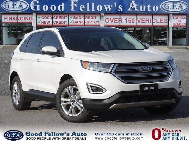 2016 Ford Edge SEL MODEL, REARVIEW CAMERA, PANORAMIC ROOF, 2L 4CY SUV