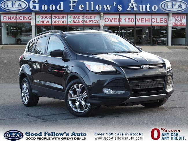 2014 Ford Escape SE MODEL, 1.6 ECOBOOST, LEATHER SEATS, NAVIGATION SUV