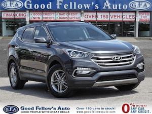 2018 Hyundai Santa Fe Sport SE SPORT MODEL, 2.4 L 4CYL, AWD, REARVIEW CAMERA