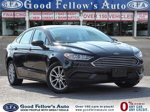 2017 Ford Fusion SE MODEL, 2.5L 4CYL, REARVIEW CAMERA, POWER SEATS