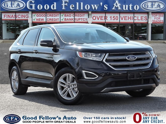 2018 Ford Edge SEL MODEL, 6CYL 3.5L, LEATHER SEAT, SUNROOF, NAVI SUV