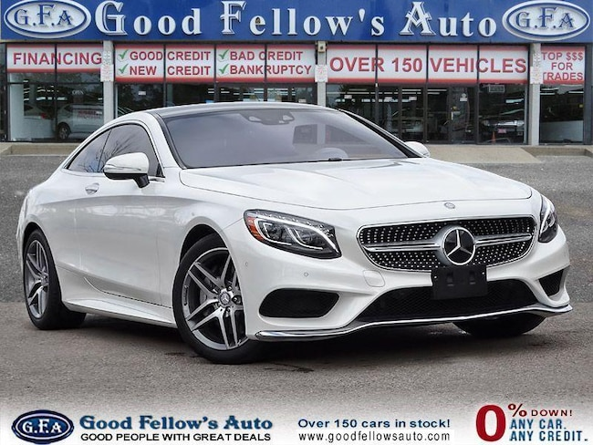 2017 Mercedes-Benz S550 AWD, REARVIEW CAMERA, PANORAMIC ROOF, HEATED SEATS Coupe
