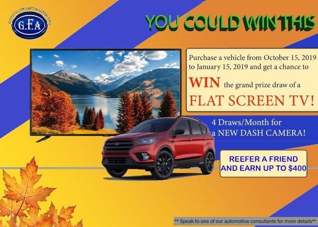 2017 Ford Escape Good or Bad Credit Auto Financing ..! SUV