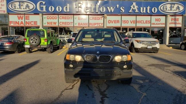 2003 BMW X5 MODEL, 3.0L 6CYL, AWD, LEATHER & POWER SEATS SUV