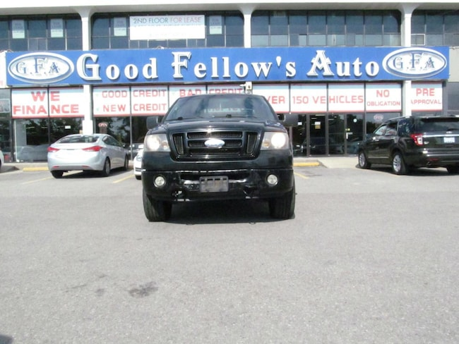 2008 Ford F-150 SUPER CREW, 4WD, POWER & LEATHER SEATS, SUNROOOF Truck