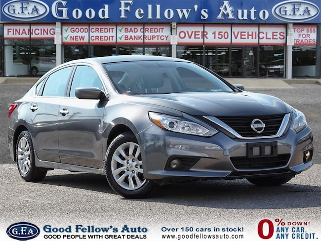 2016 Nissan Altima S MODEL, 2.5L 4CYL, REARVIEW CAMERA, POWER SEAT Sedan