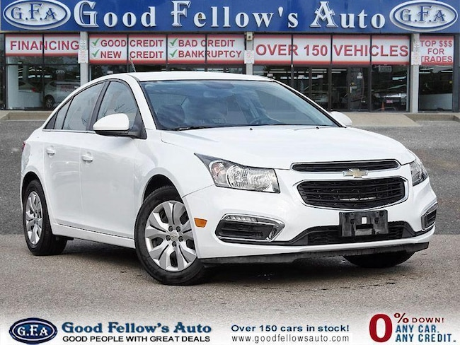 2015 Chevrolet Cruze 1LT MODEL, 4CYL, ALLOY WHEELS, REARVIEW CAMERA Sedan