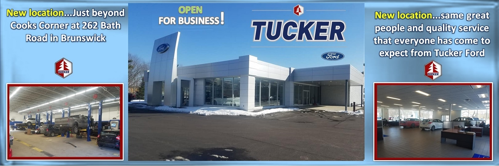 Tucker Ford New Used Ford Dealership In Brunswick ME - Ford dealers in maine