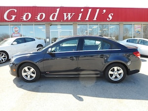 2015 Chevrolet Cruze LT! RS! FACT. REMOTE START! BACKUP CAM! SUNROOF!