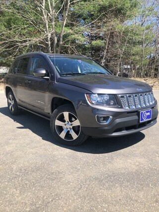 Used  2016 Jeep Compass Latitude 4x4 SUV for sale in Scarborough, ME