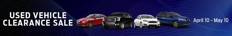 Used Vehicle Clearance Sale