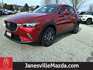 New 2018 Mazda Mazda CX-3 Touring SUV JM1DKFC73J1308167 for sale in Janesville, WI at Gordie Boucher Mazda of Janesville