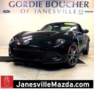 New 2019 Mazda Mazda MX-5 Miata RF Grand Touring Coupe JM1NDAM79K0300730 for sale in Janesville, WI at Gordie Boucher Mazda of Janesville