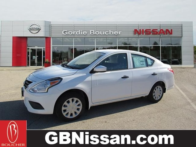 New Nissan vehicle 2019 Nissan Versa 1.6 S+ Sedan for sale near you in Greenfield, WI