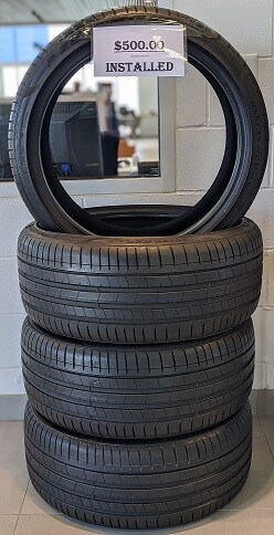 Pirelli Summer tires $500 with installation! 255/35/20
