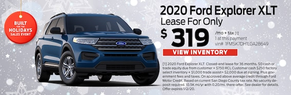 Lease Specials Near Me >> Gosch Ford Escondido New And Used Ford Dealership In