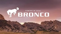 2020 Bronco is arriving soon