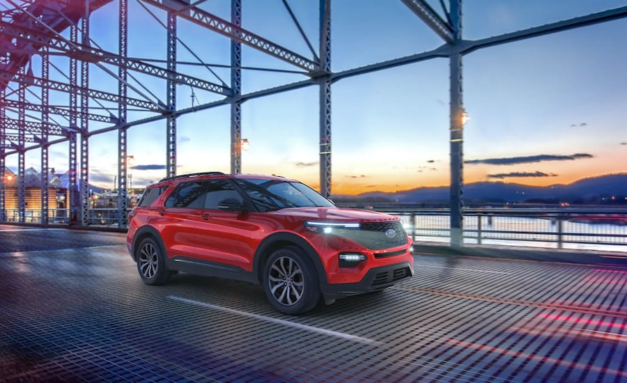 2021 Ford Explorer in Hemet
