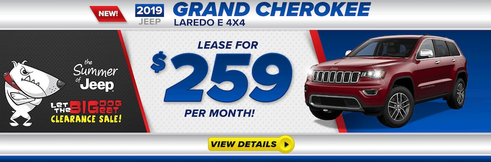 Grand Cherokee Lease $259/MO