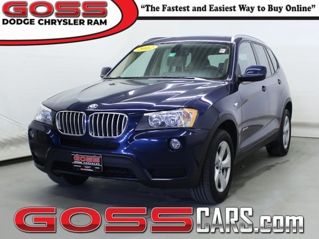 2012 BMW X3 Xdrive28i AWD SUV