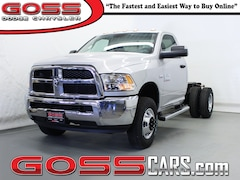 2018 Ram 3500 Chassis TRADESMAN REGULAR CAB 4X4 143.5 WB Cab and Chassis