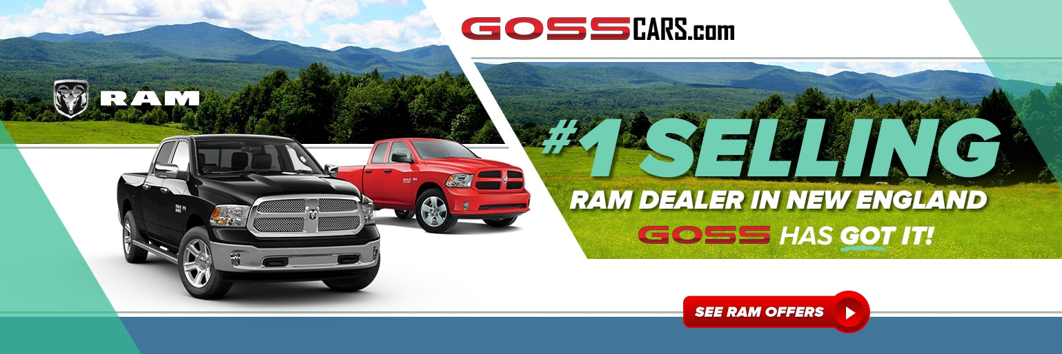 New Cars for Sale South Burlington VT | Goss Dodge