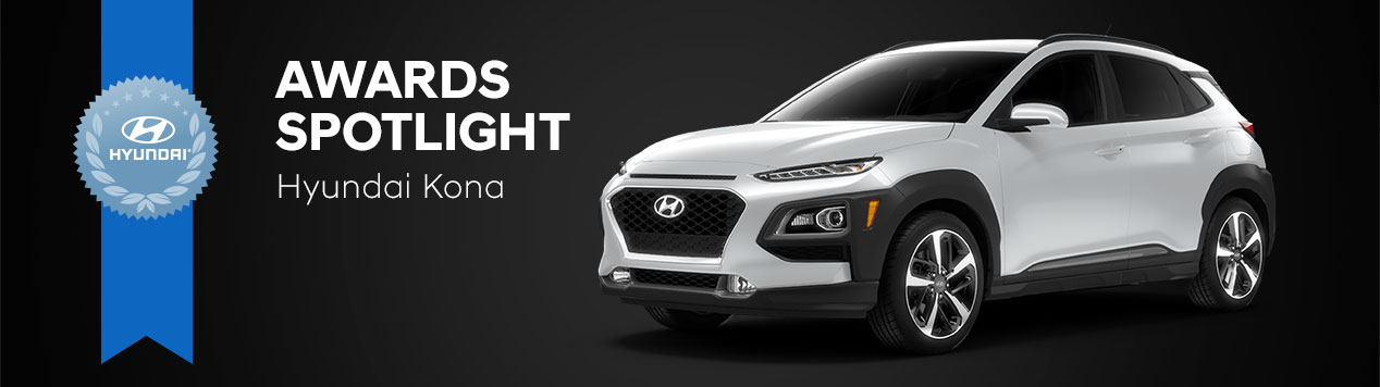 Hyundai Kona Awards Spotlight - Gossett Hyundai South - Memphis, TN