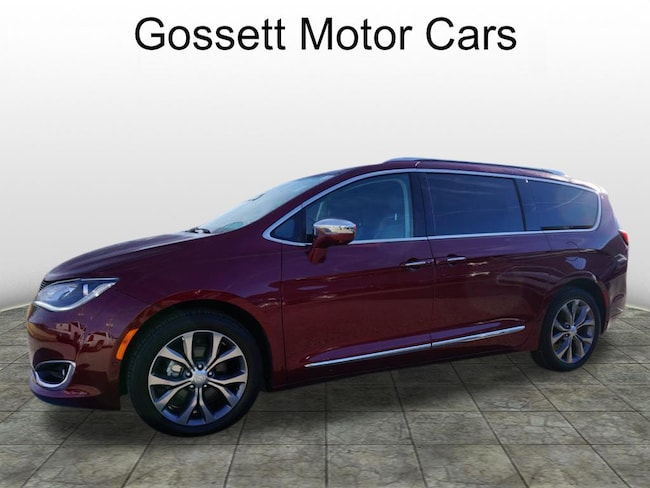 2018 Chrysler Pacifica Limited Limited  Mini-Van