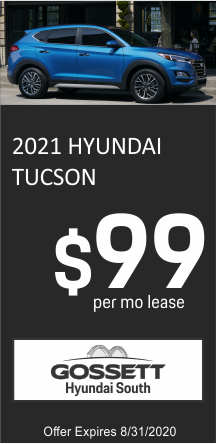 Gossett Hyundai South New Vehicle Specials