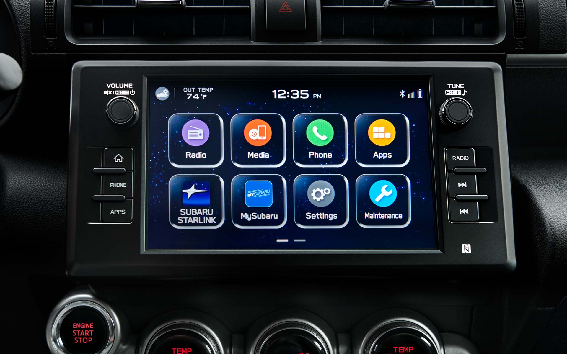 2022 Subaru BRZ STARLINK® multimedia system