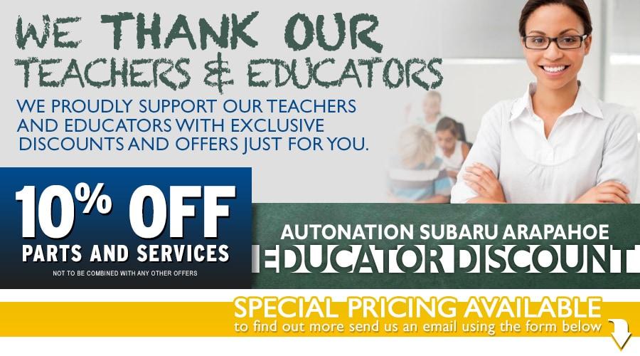Jeep educator discount