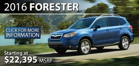 Learn more about the 2016 Subaru Forester